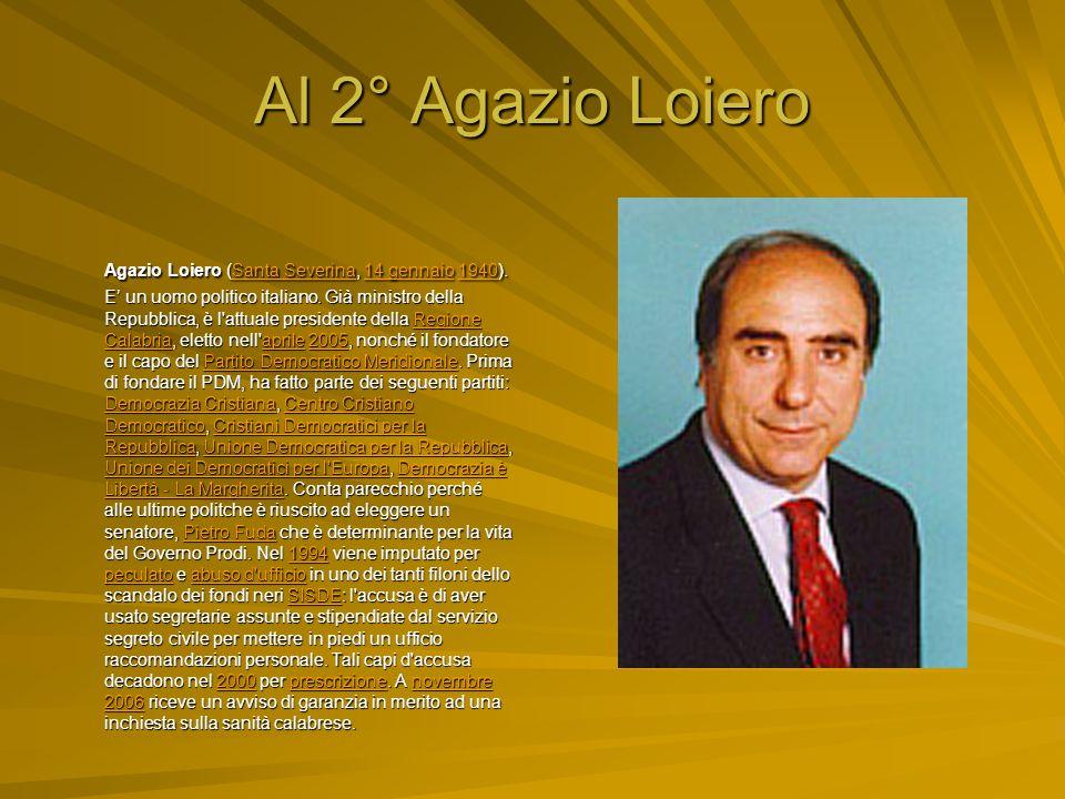 Al 3° Rosa Iervolino Russo Rosa Iervolino Russo (Napoli, 17 settembre 1936). In politica è anche nota come Rosetta Iervolino, o Jervolino. Lei stessa