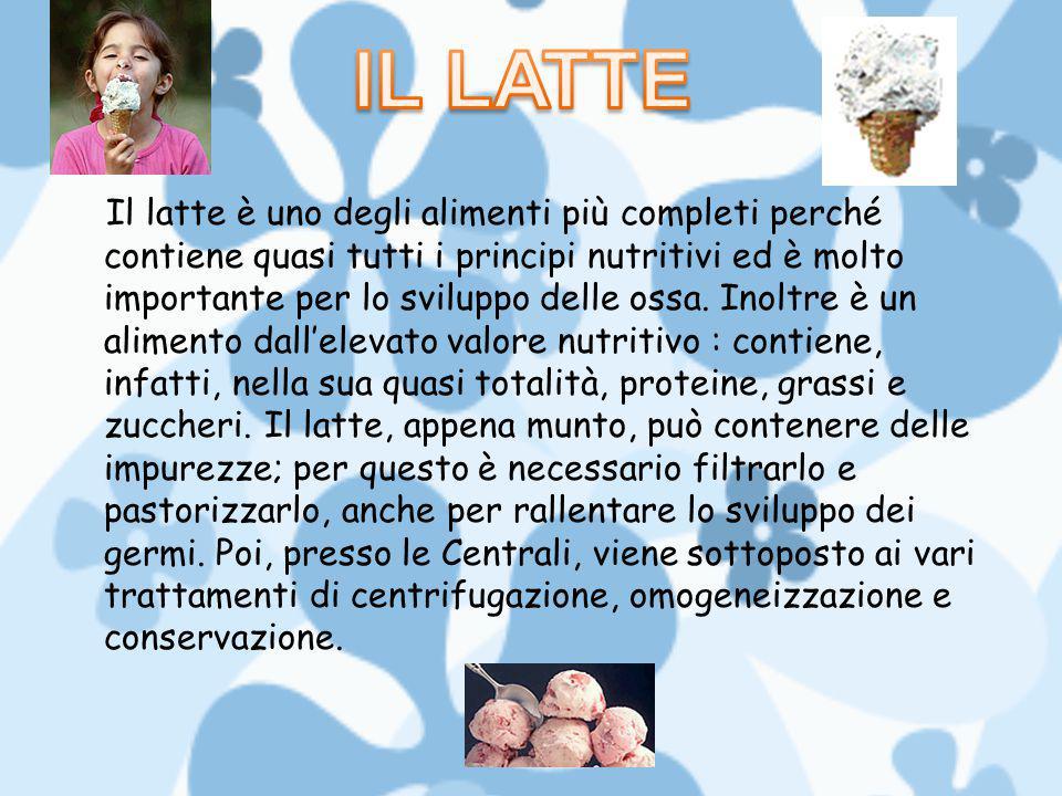 GLI ZUCCHERI Gli zuccheri del latte sono rappresentati prevalentemente dal lattosio; esso può essere trasformato in acido lattico dai fermenti lattici (batteri), sfruttati per la produzione di yogurt e formaggi.