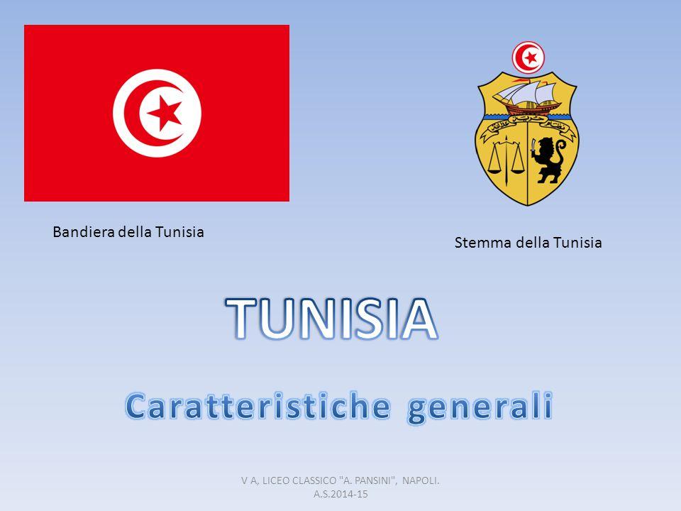 Bandiera della Tunisia Stemma della Tunisia V A, LICEO CLASSICO