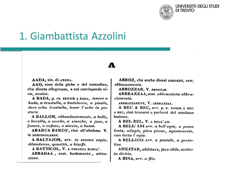 1. Giambattista Azzolini