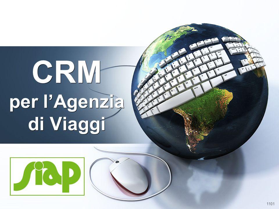 1101 CRM per l'Agenzia di Viaggi