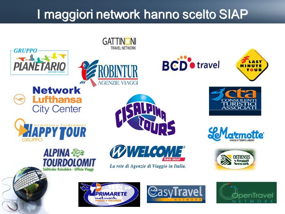 I maggiori network hanno scelto SIAP