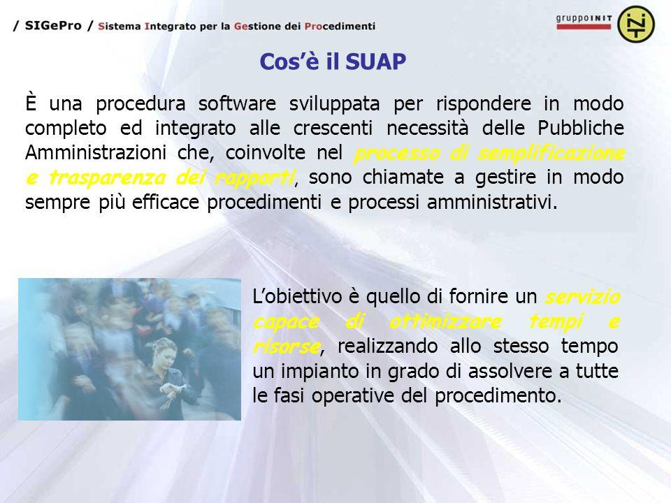 È una procedura software sviluppata per rispondere in modo completo ed integrato alle crescenti necessità delle Pubbliche Amministrazioni che, coinvol