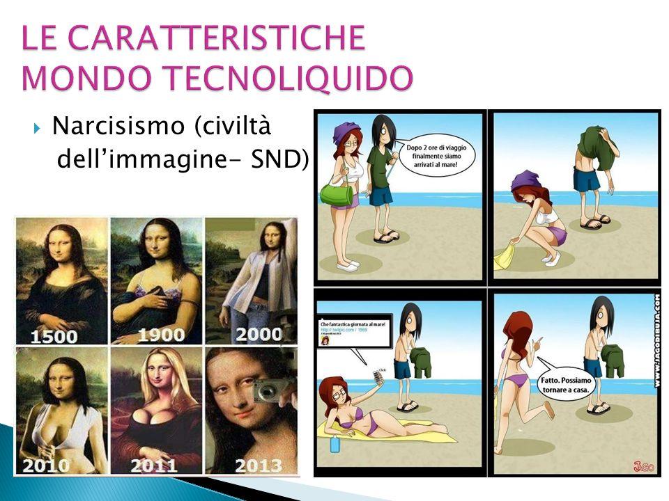  Narcisismo (civiltà dell'immagine- SND)