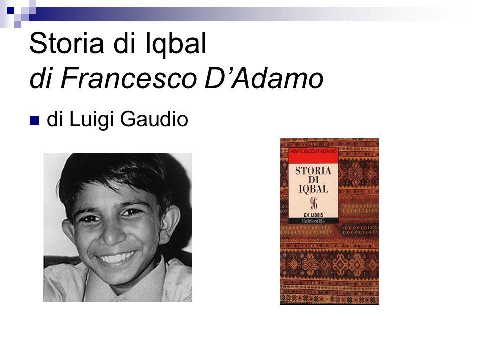 Premessa dell' autore Leggiamo la premessa che Francesco D'Adamo ha anteposto al testo, per capire 1.
