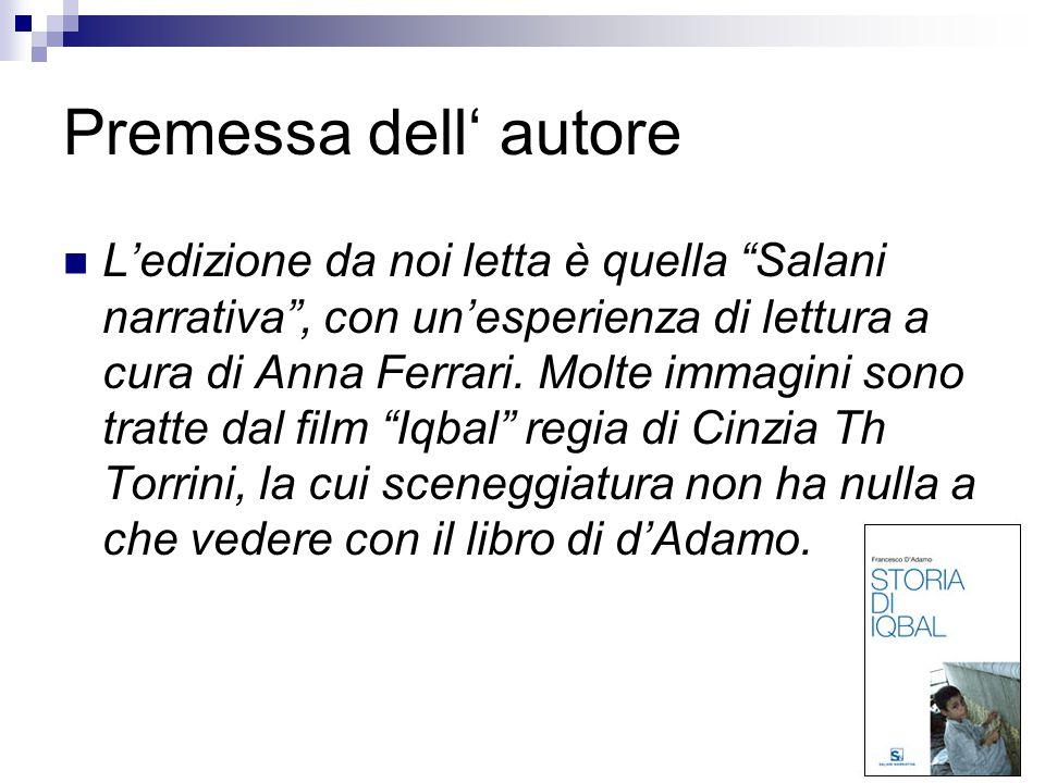 """Premessa dell' autore L'edizione da noi letta è quella """"Salani narrativa"""", con un'esperienza di lettura a cura di Anna Ferrari. Molte immagini sono tr"""