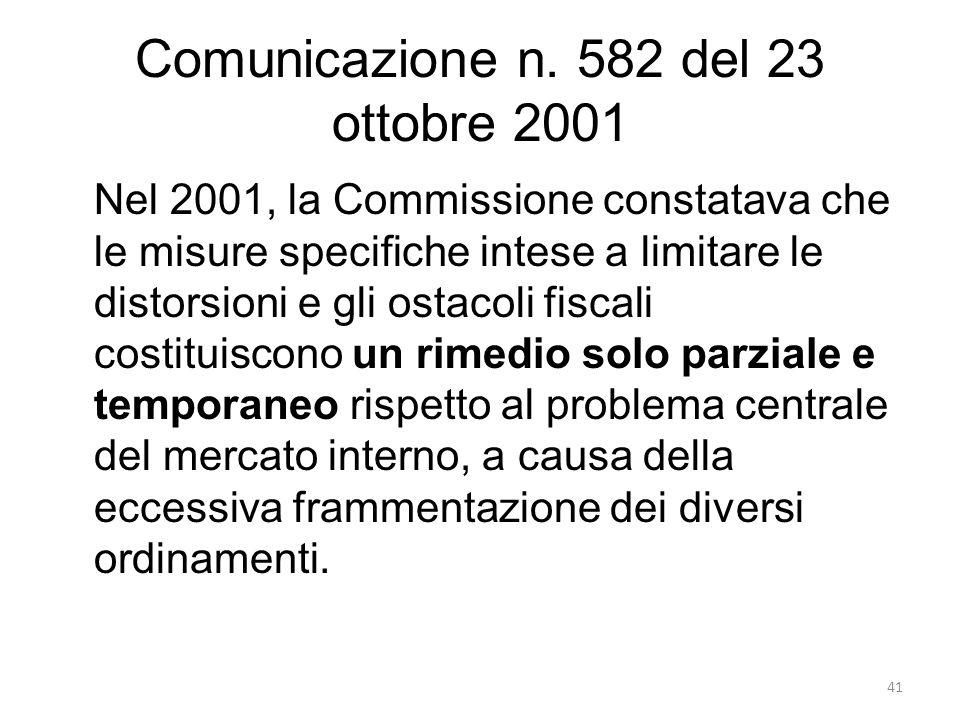 Comunicazione n.