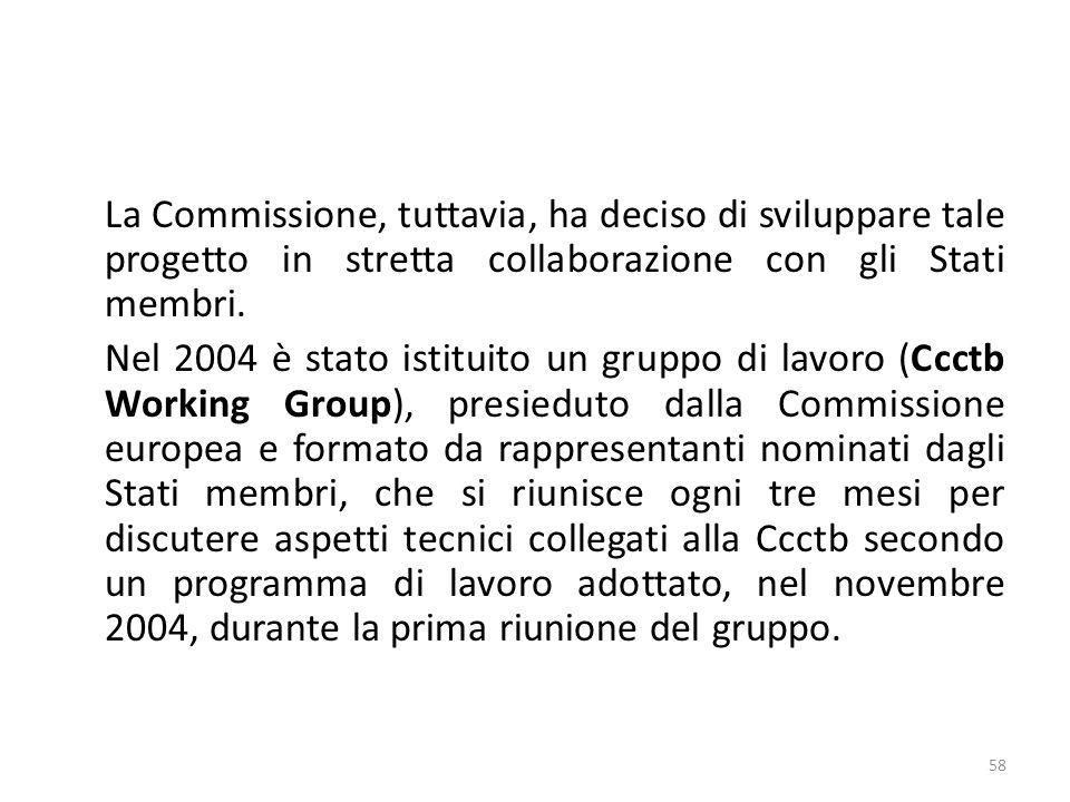 La Commissione, tuttavia, ha deciso di sviluppare tale progetto in stretta collaborazione con gli Stati membri.