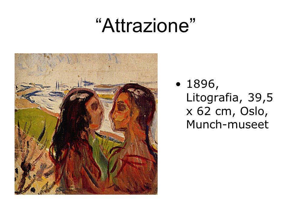 Attrazione 1896, Litografia, 39,5 x 62 cm, Oslo, Munch-museet