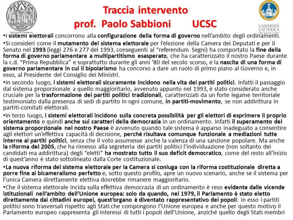 7 Traccia intervento prof.
