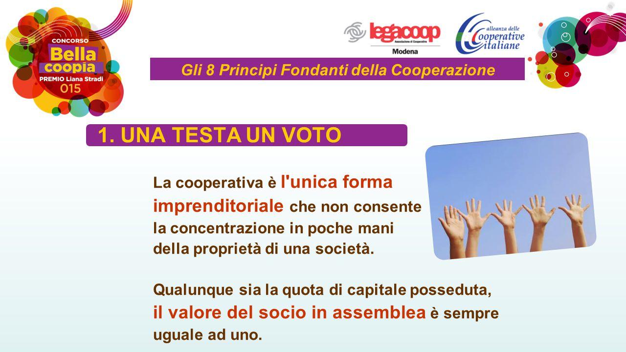 Gli 8 Principi Fondanti della Cooperazione 1.