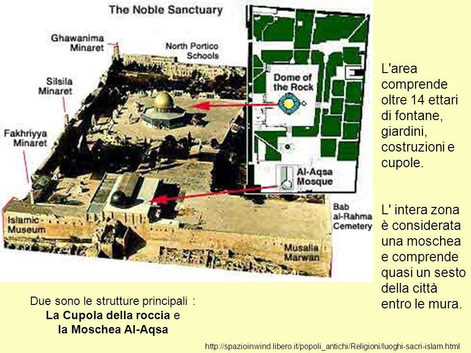 http://spazioinwind.libero.it/popoli_antichi/Religioni/luoghi-sacri-islam.html L'area comprende oltre 14 ettari di fontane, giardini, costruzioni e cu