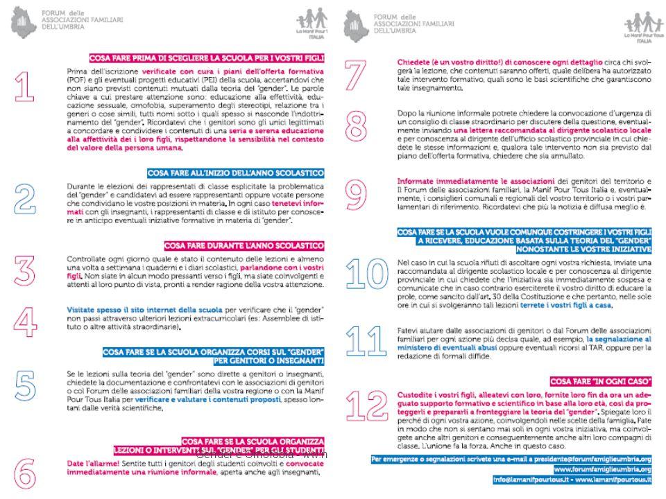 Possiamo mandarvi il file del volantino che potete stampare e diffondere nelle scuole della vostra città. Gender e Omofobia - ww.nellenote.wordpress.c