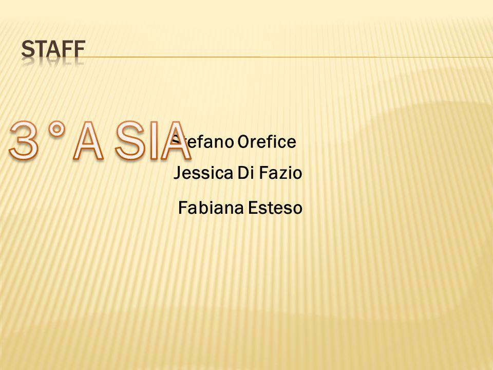 Stefano Orefice Fabiana Esteso Jessica Di Fazio