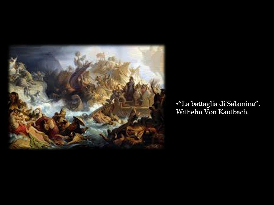 """La battaglia di Salamina"". Wilhelm Von Kaulbach."