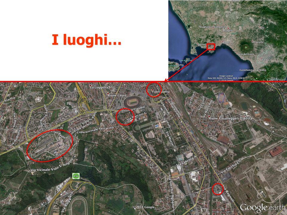 I luoghi…