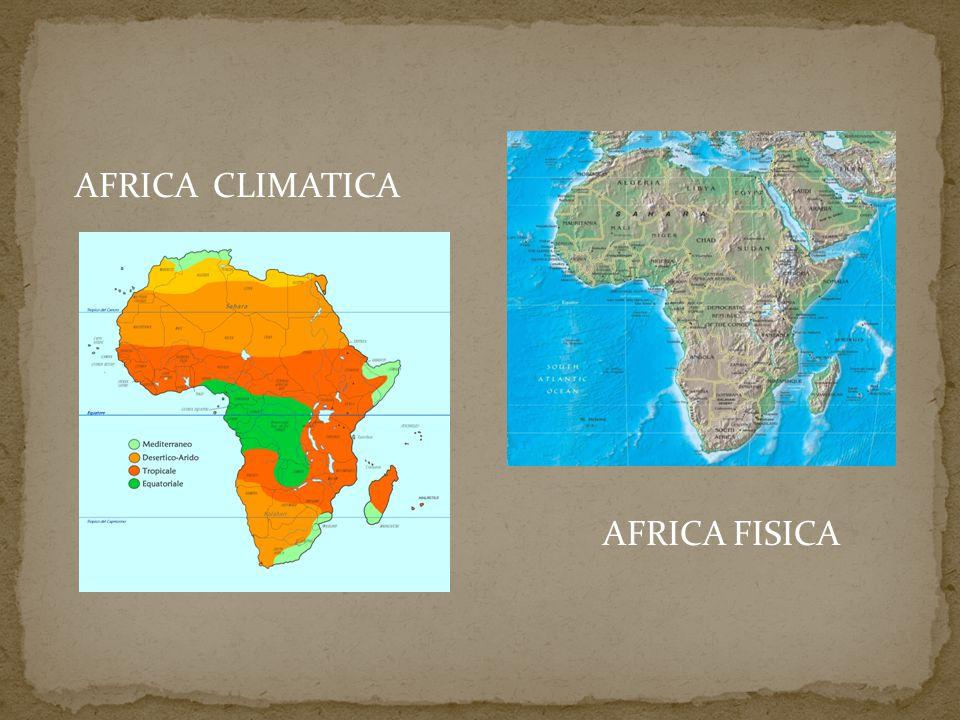 AFRICA CLIMATICA AFRICA FISICA
