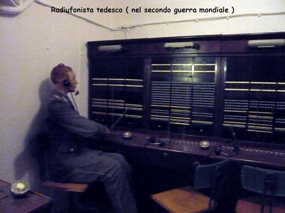 Radiufonista tedesco ( nel secondo guerra mondiale )