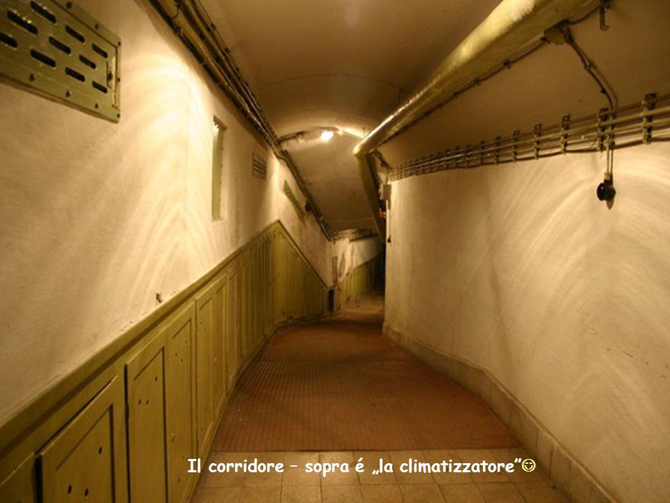 """Il corridore – sopra é """"la climatizzatore"""