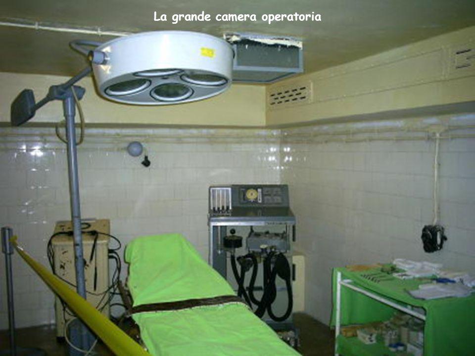 La grande camera operatoria