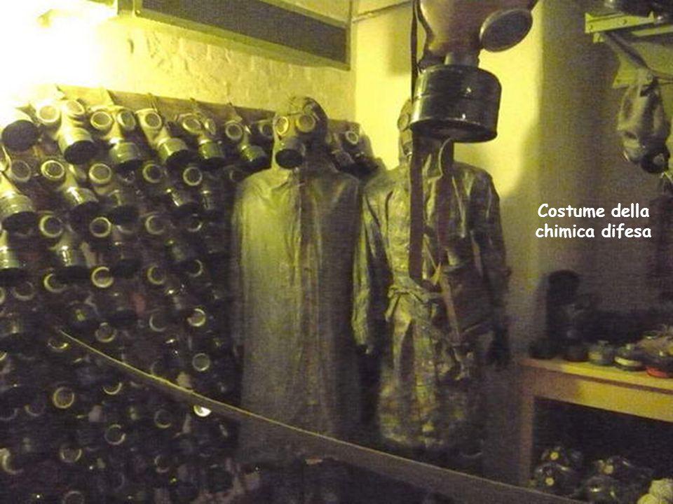 Costume della chimica difesa