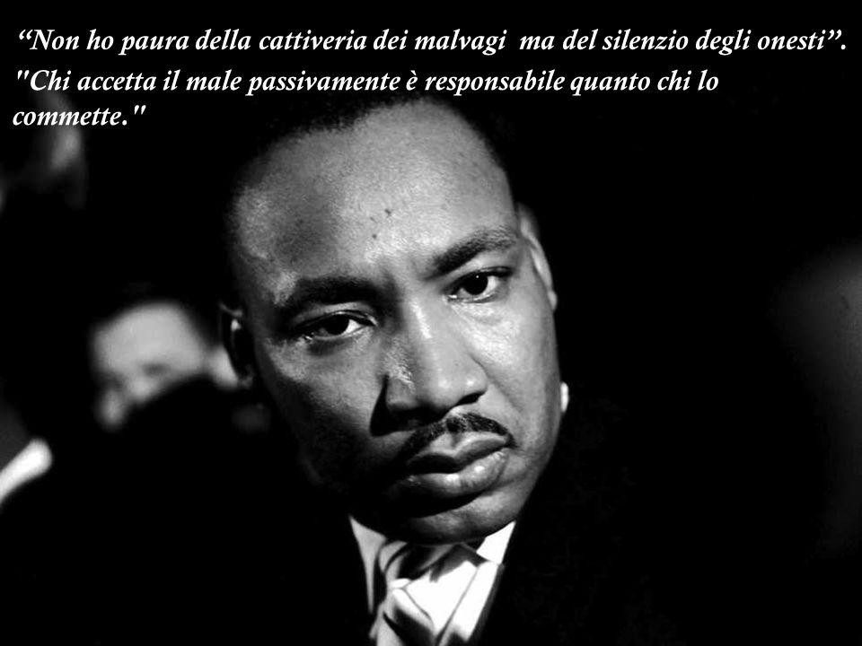 Io ho un sogno.