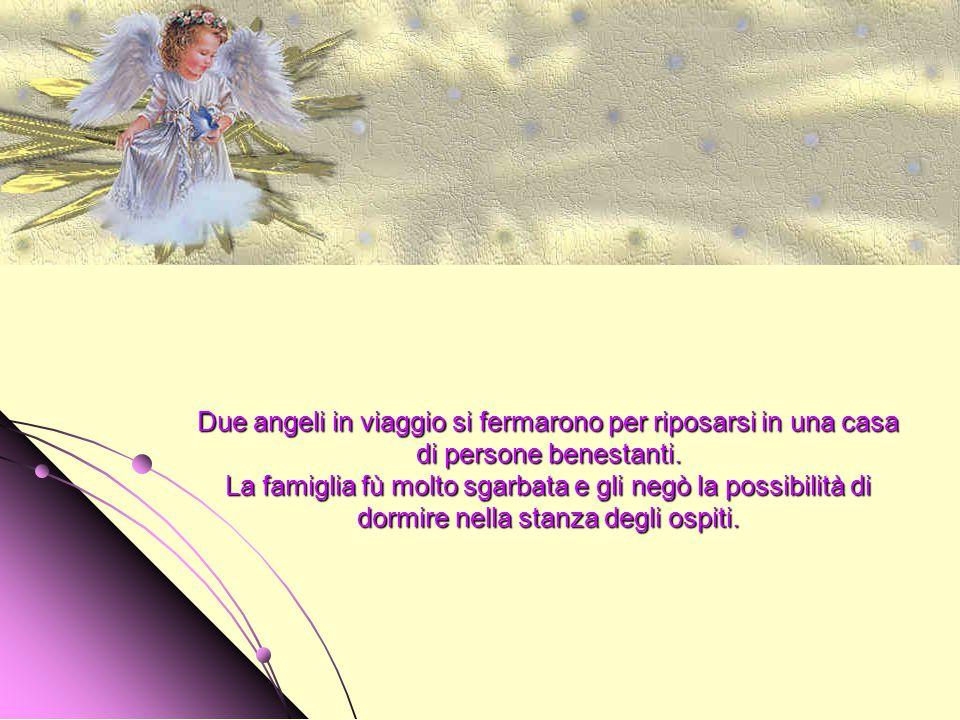 PRENDI QUESTO PICCOLO ANGELO E TIENILO STRETTO A TE.