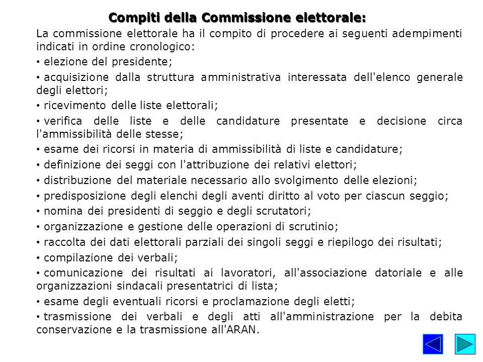 La Commissione si insedia entro il 23 gennaio 2015 e si costituisce formalmente entro il 28 gennaio 2015.