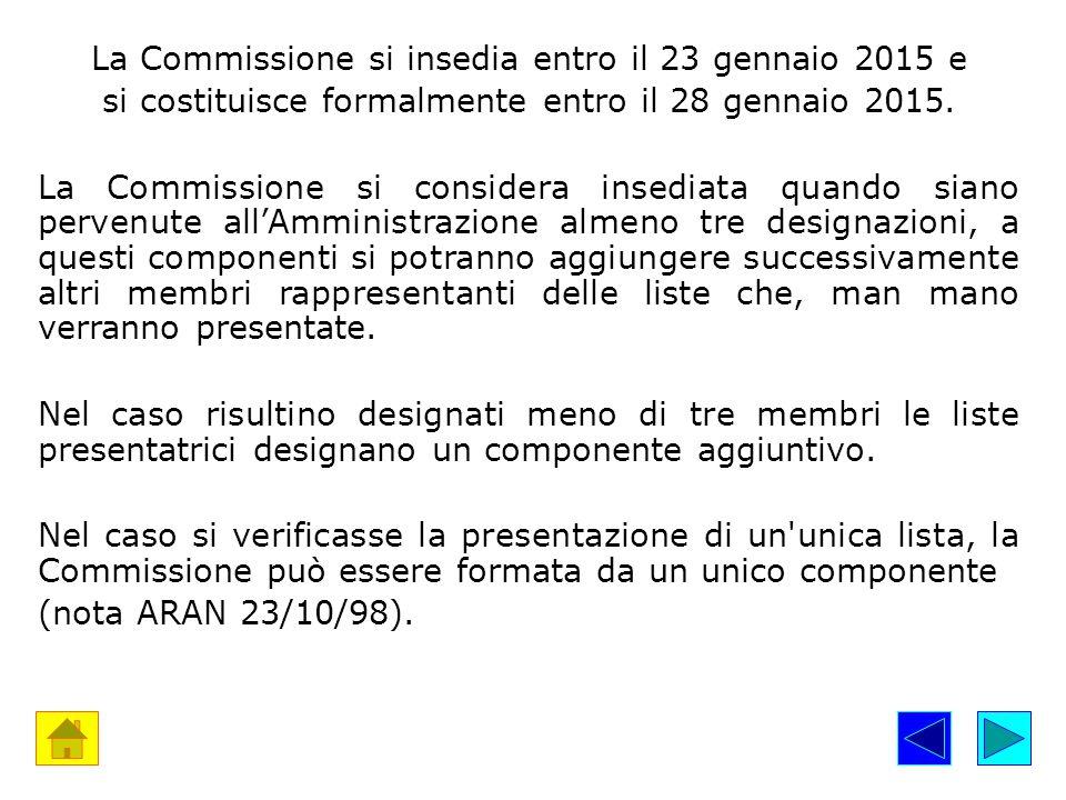 7.I seggi La Commissione Elettorale costituisce uno o più seggi (in sedi e plessi staccati).
