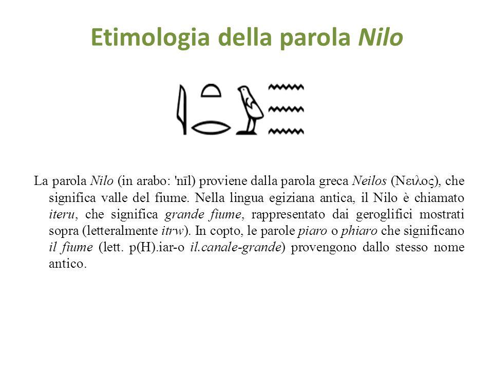IL NILO Il Nilo è un fiume nordafricano lungo 6695 km. Tradizionalmente fu considerato il fiume più lungo del mondo. Possiede due grandi affluenti, il