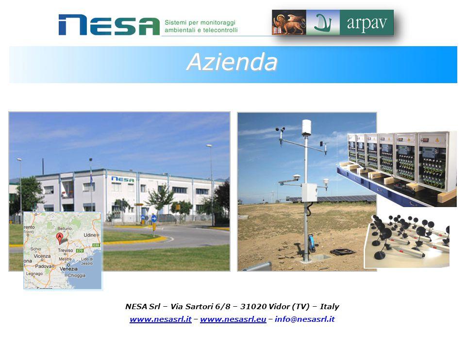 NESA, azienda Italiana presente nel mercato da oltre dieci anni, crea soluzioni per il monitoraggio ed il telecontrollo ambientale ed industriale.