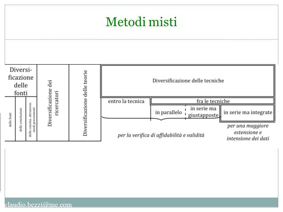 claudio.bezzi@me.com Metodi misti