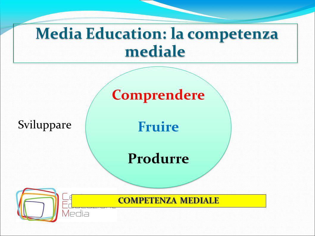 Media Education: dalla teoria alla pratica DECODIFICA PRODUZIONE Non solo semplice lettura dei media, ma vera e propria produzione, cioè costruzione di un prodotto.