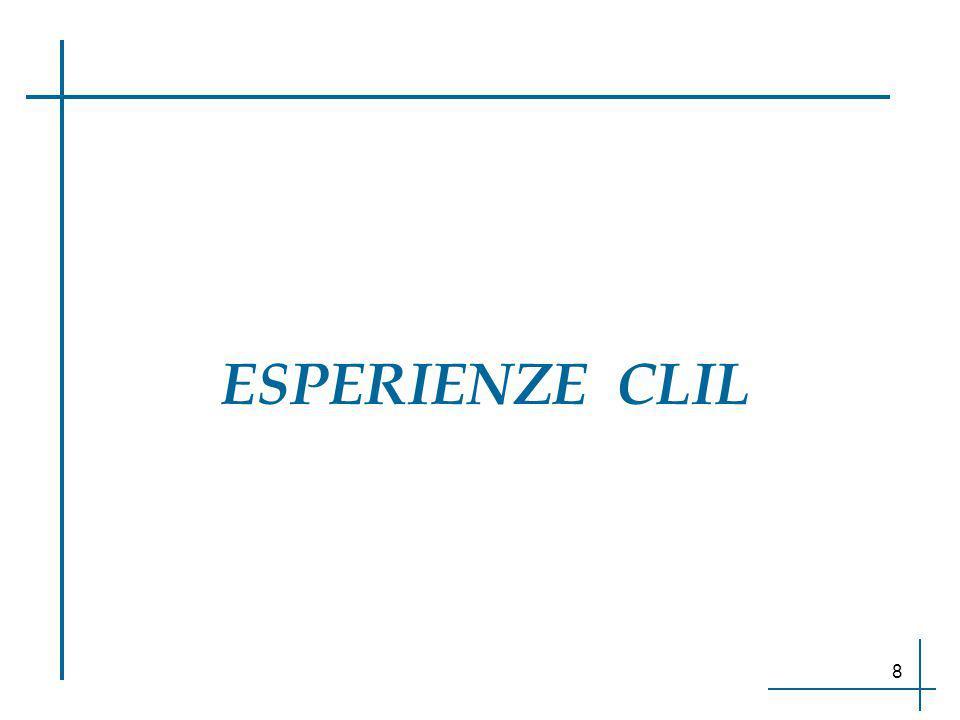 ESPERIENZE CLIL 8