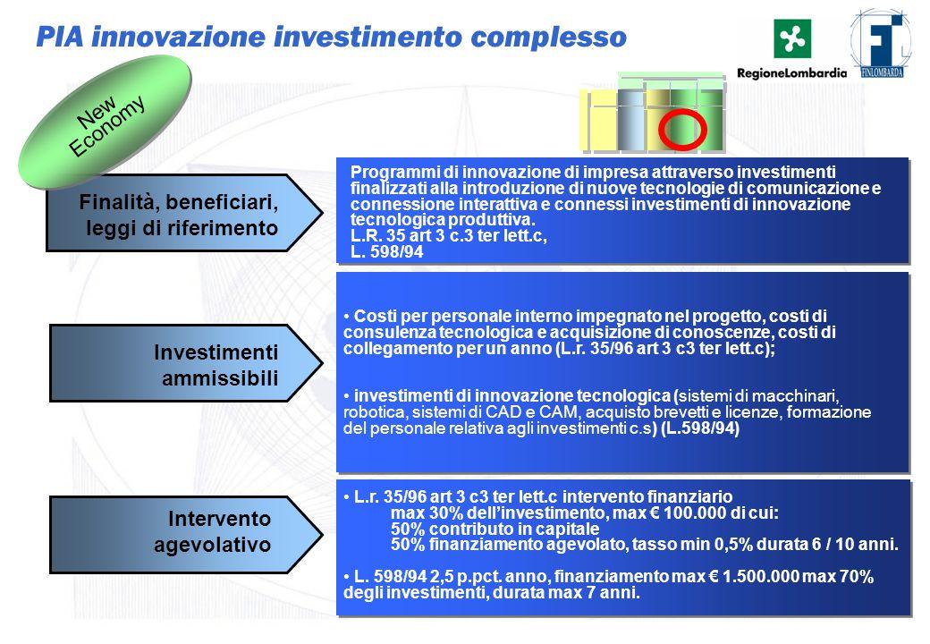23 Programmi di innovazione di impresa attraverso investimenti finalizzati alla introduzione di nuove tecnologie di comunicazione e connessione intera