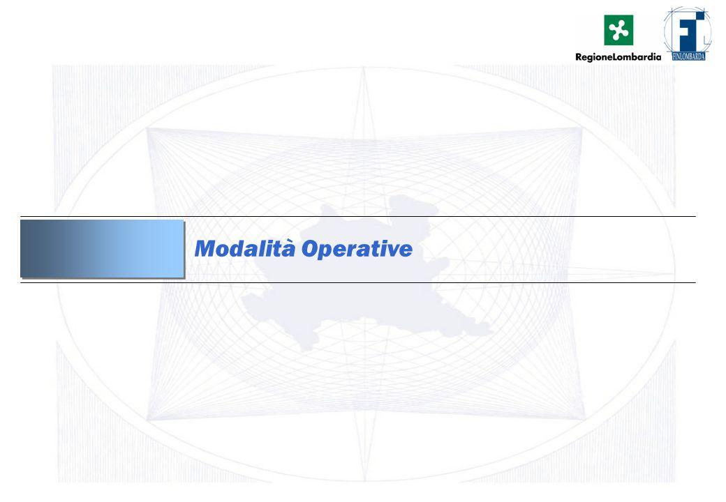 8 Modalità Operative