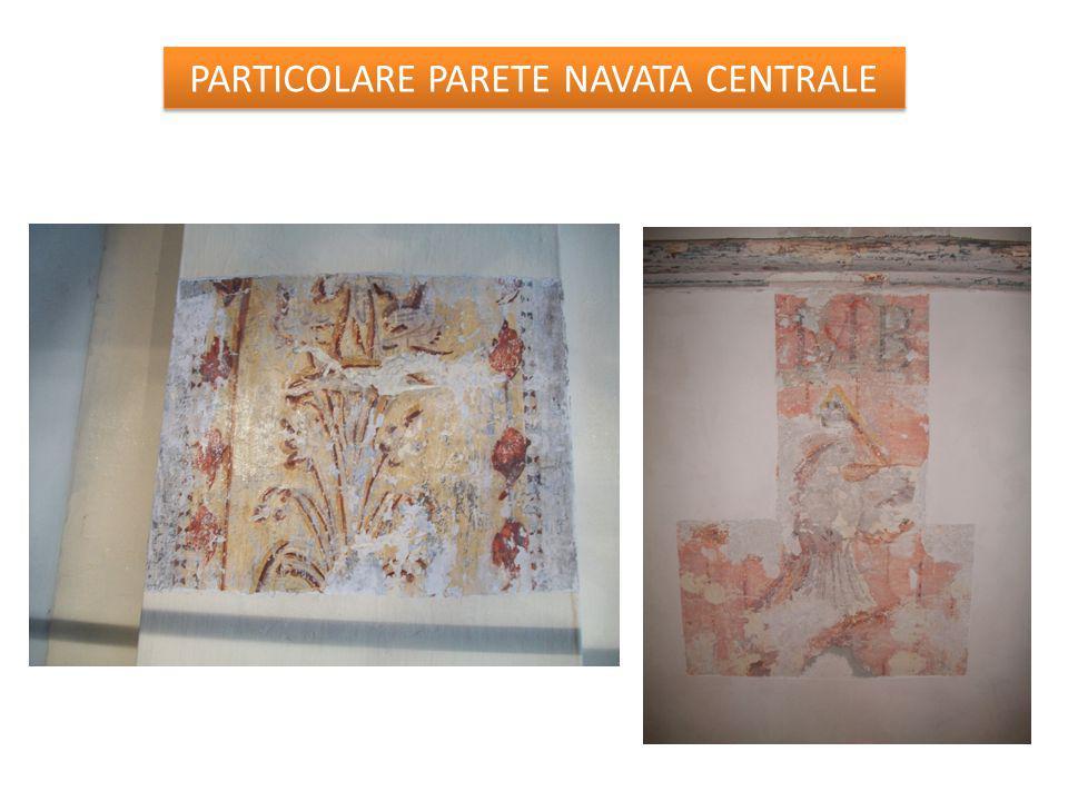 PARTICOLARE PARETE NAVATA CENTRALE