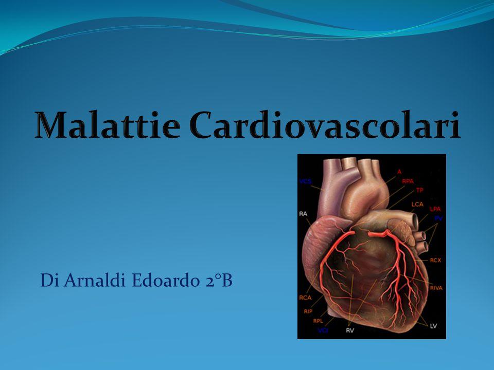 Le malattie cardiovascolari sono un gruppo di patologie del cuore e dei vasi sanguigni.