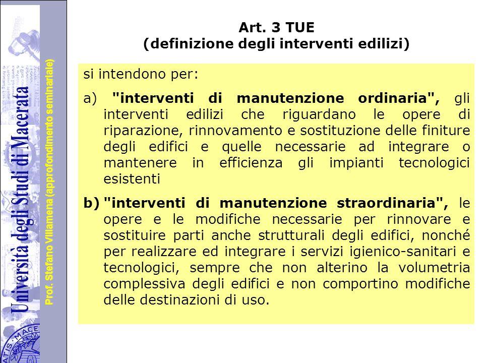 Università degli Studi di Perugia Prof.Stefano Villamena (approfondimento seminariale) Art.