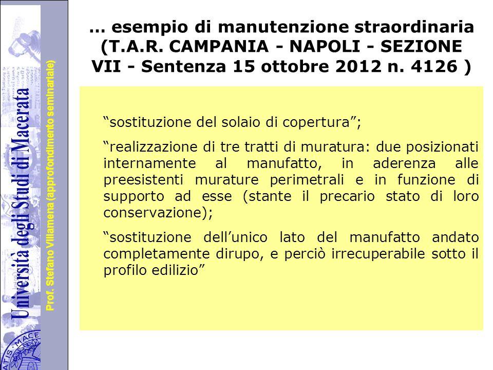 Università degli Studi di Perugia Prof.