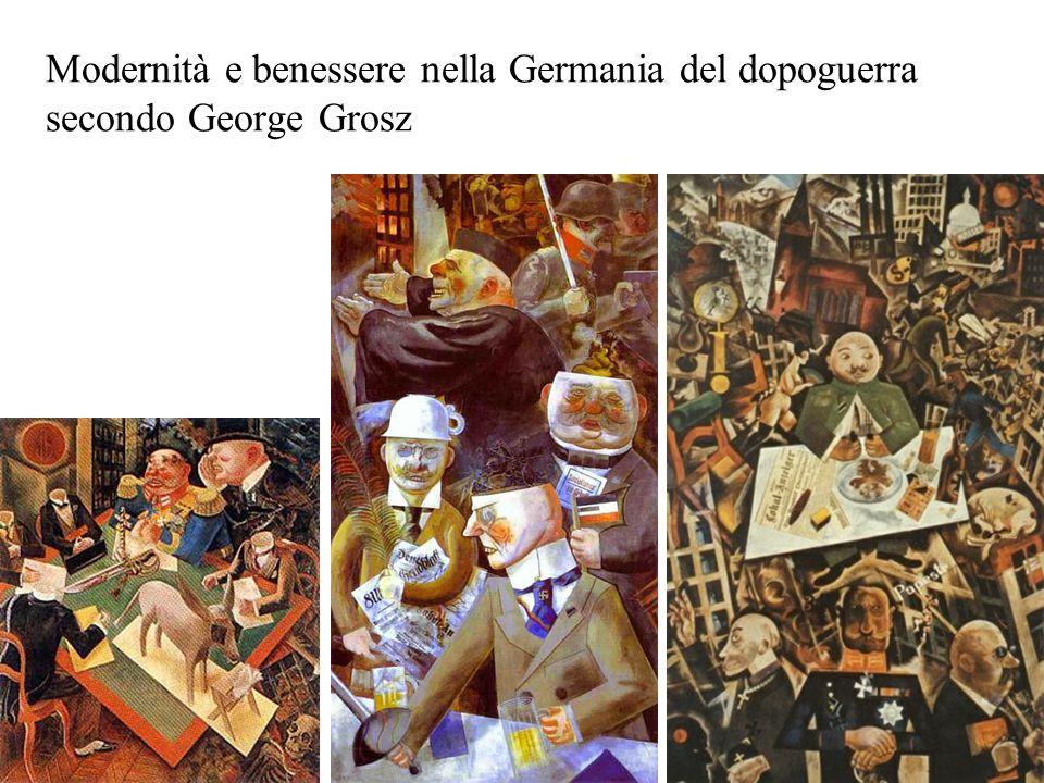 Modernità e benessere nella Germania del dopoguerra secondo George Grosz