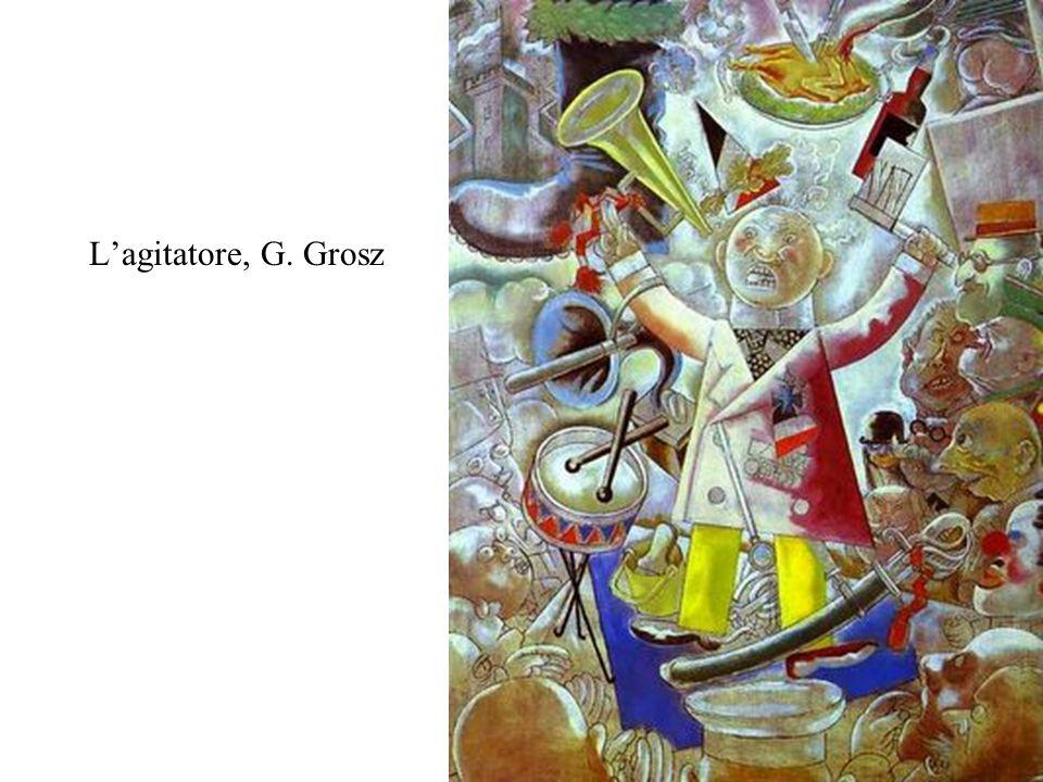 L'agitatore, G. Grosz