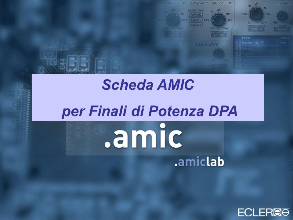 Scheda AMIC per Finali di Potenza DPA