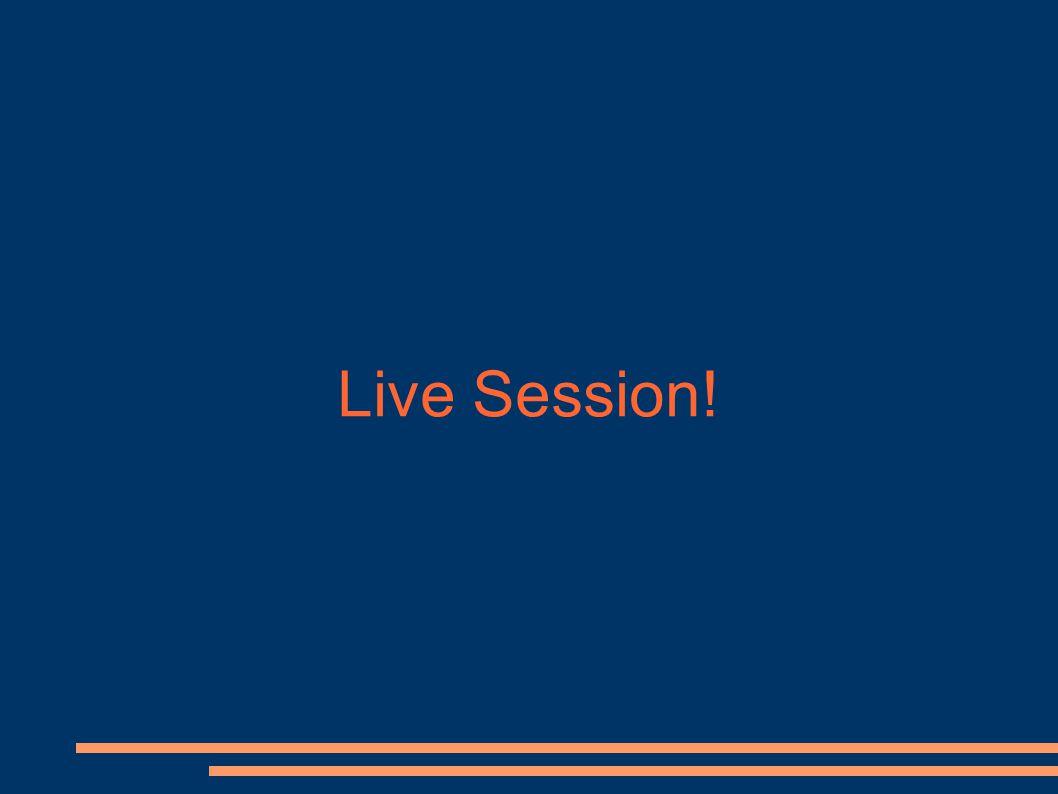 Live Session. Ipotizzando che per crittare due plaintext P 1 e P 2 venga scelto lo stesso IV v.