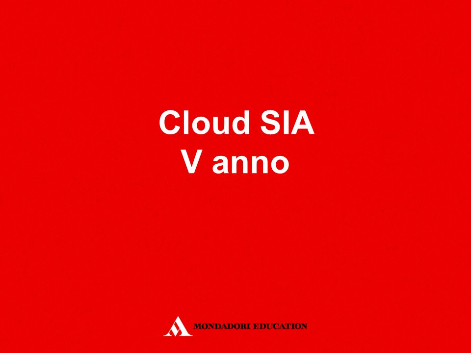 Cloud SIA V anno