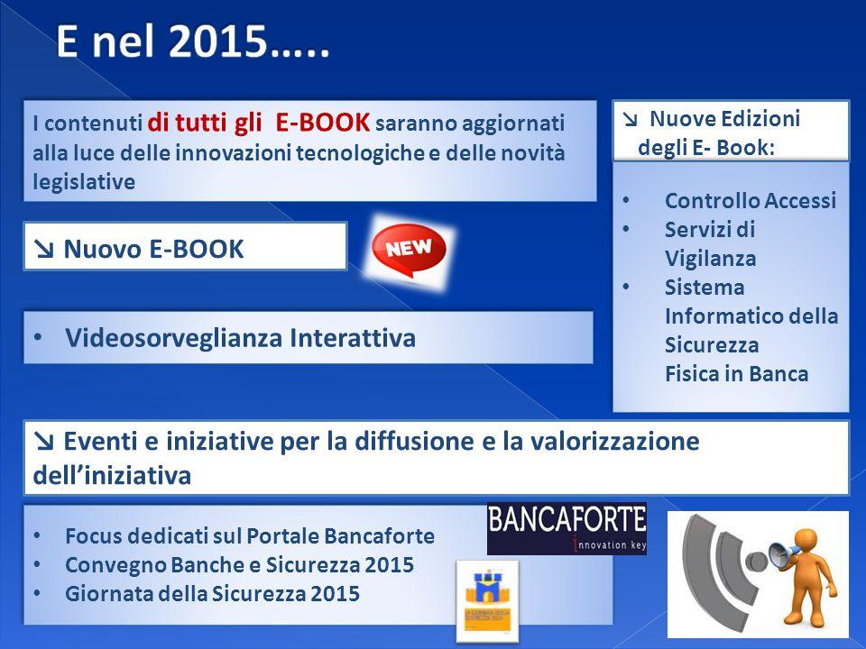 ↘ Nuove Edizioni degli E- Book: ↘ Nuovo E-BOOK Videosorveglianza Interattiva I contenuti di tutti gli E-BOOK saranno aggiornati alla luce delle innova