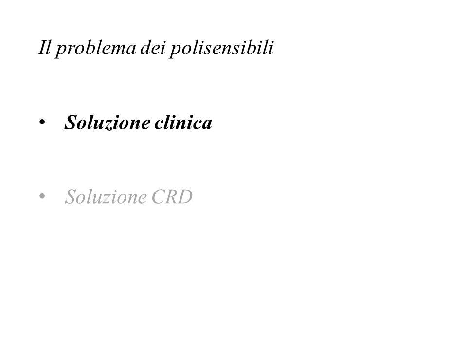 Soluzione clinica Soluzione CRD