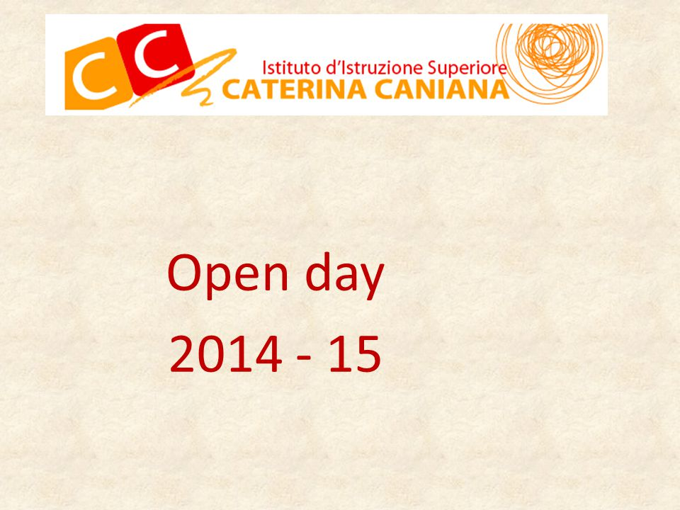 Open day 2014 - 15