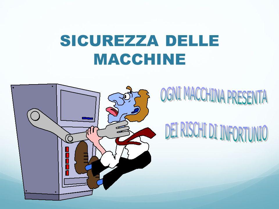 SICUREZZA DELLE MACCHINE