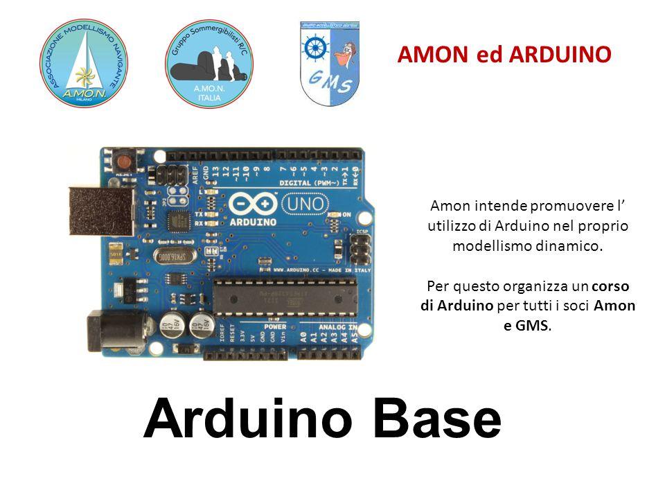 AMON ed ARDUINO Motori Passo Passo OUT 1 = Blu 2 = Orange 3 = Black 4 = Yellow IN 1 = pin 8 2 = pin 9 3 = pin 10 4 = pin 11